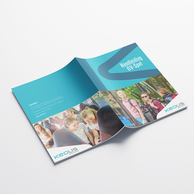 Keolis Brochure Omslag